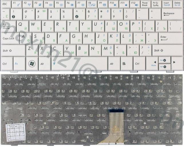 клавиатура asus EEE PC 1001 1005 1008