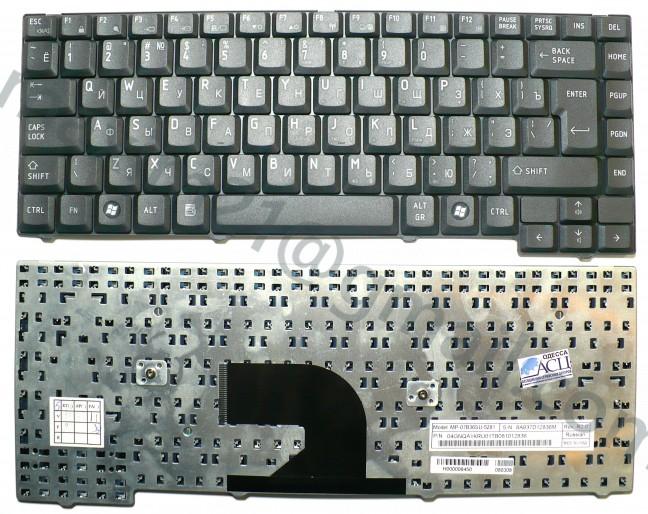 Клавиатура Toshiba L40 черная