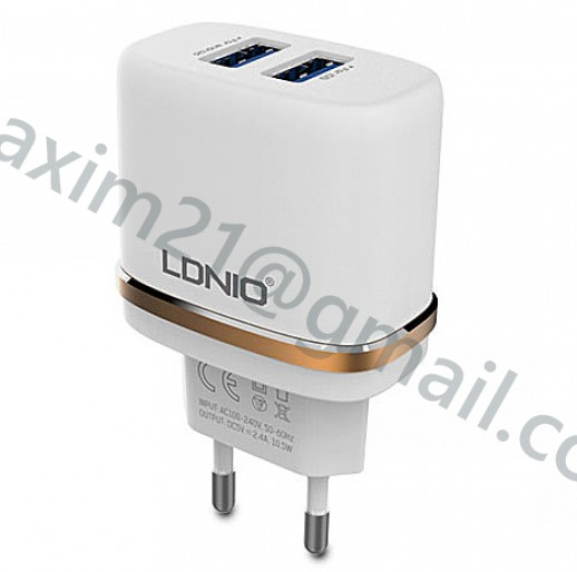 мощное сетевое зарядное устройство LDNIO DL-AC52