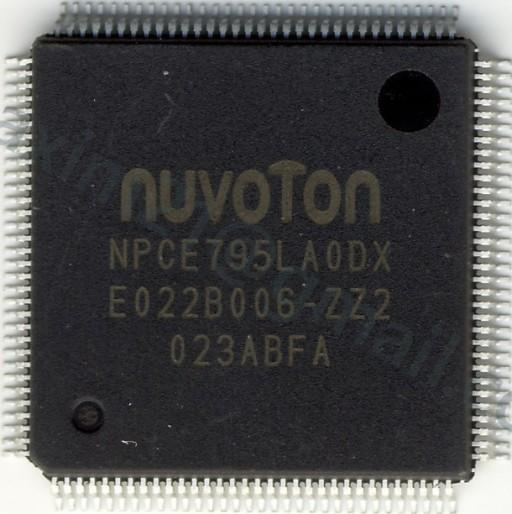 NUVOTON EC NPCE795LA0DX