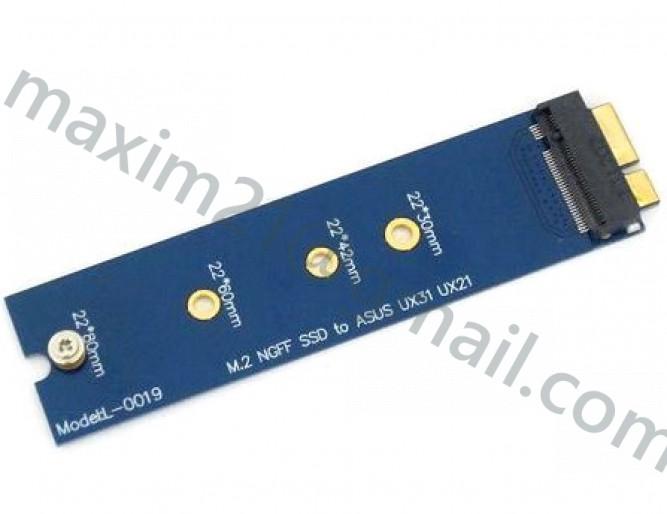 переходник M.2 NGFF SSD к ASUS ZENBOOK UX31 UX21