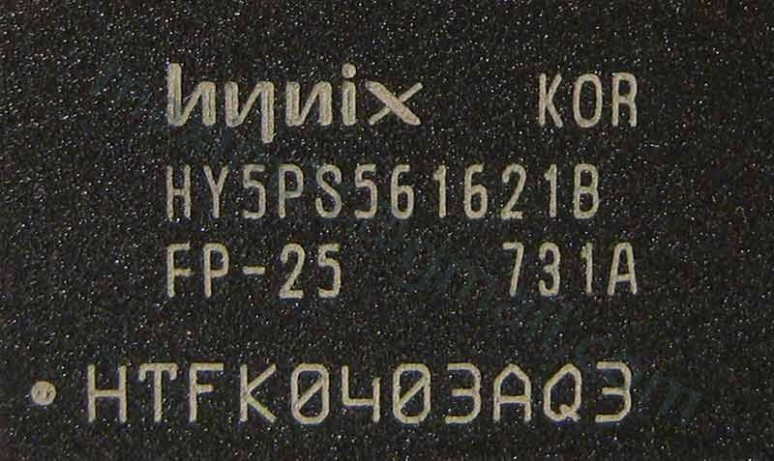 ram Hynix HY5PS561621B FP-25  256Mb DDR2 SDRAM