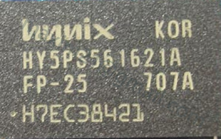 ram Hynix HY5PS561621A FP-25  256Mb DDR2 SDRAM
